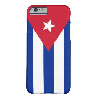 Bandera de Cuba Funda Para iPhone 6 Barely There
