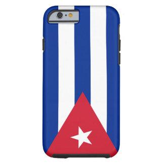 Bandera de Cuba Funda Para iPhone 6 Tough