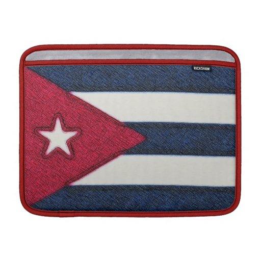 BANDERA DE CUBA FUNDAS MacBook