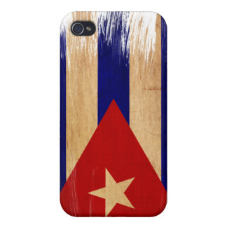 Bandera de Cuba iPhone 4/4S Carcasas