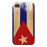 Bandera de Cuba iPhone 4 Cárcasas