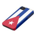 Bandera de Cuba iPhone 4 Case-Mate Cárcasas