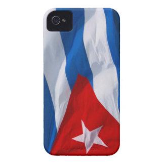 bandera de Cuba iPhone 4 Case-Mate Coberturas