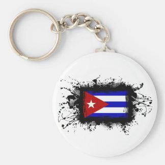Bandera de Cuba Llaveros