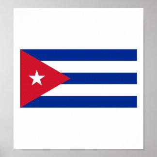 Bandera de Cuba Impresiones