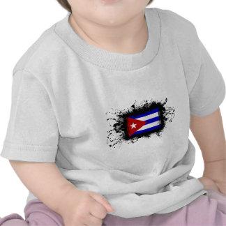 Bandera de Cuba Camisetas