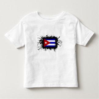 Bandera de Cuba Playera De Bebé