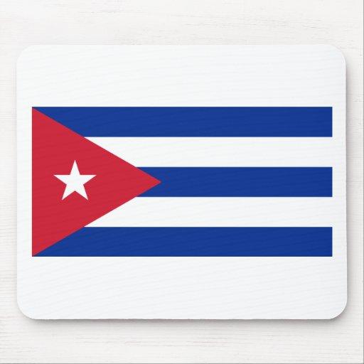 Bandera de Cuba Tapetes De Raton