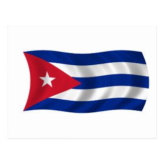 Bandera de Cuba Postal