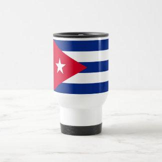Bandera de Cuba Taza De Viaje De Acero Inoxidable