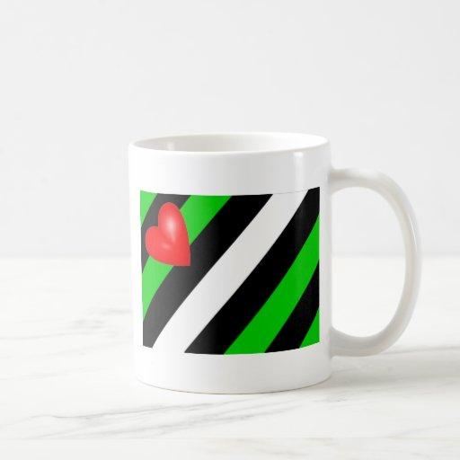 Bandera de cuero de Boi Taza De Café
