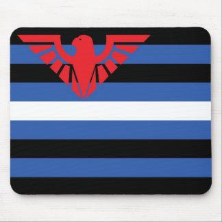 Bandera de cuero (Eagle) Mousepad