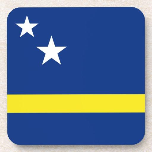 Bandera de Curacaon Posavasos De Bebida