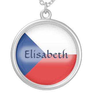 Bandera de Czechia + Collar conocido