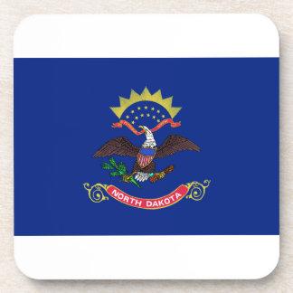 Bandera de Dakota del Norte Posavasos De Bebida