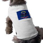Bandera de Dakota del Norte Ropa De Perro