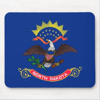 Bandera de Dakota del Norte Tapete De Ratones