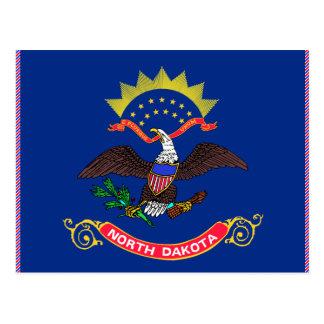 Bandera de Dakota del Norte Postal