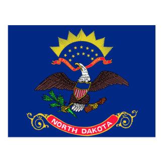 Bandera de Dakota del Norte Tarjetas Postales