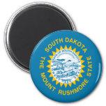 Bandera de Dakota del Sur Iman De Nevera