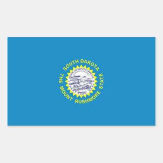Bandera de Dakota del Sur Pegatina Rectangular