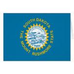 Bandera de Dakota del Sur Tarjeta