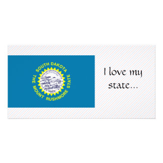 Bandera de Dakota del Sur Tarjeta Personal