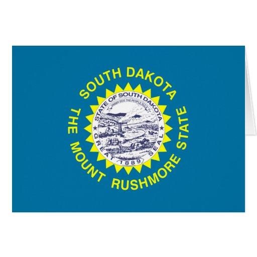 Bandera de Dakota del Sur Tarjeta Pequeña