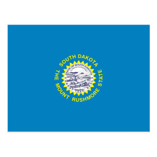 Bandera de Dakota del Sur Tarjeta Postal