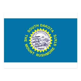 Bandera de Dakota del Sur Postales