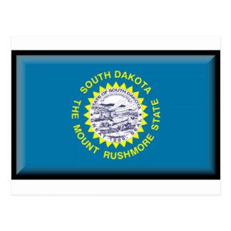 Bandera de Dakota del Sur Tarjetas Postales