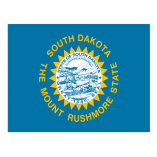 Bandera de Dakota del Sur Postal