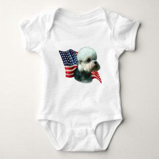 Bandera de Dandie Dinmont Terrier Tee Shirts