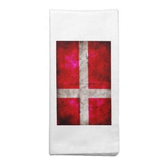 Bandera de Danmark Servilletas Imprimidas