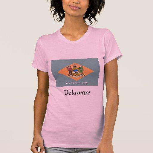 Bandera de Delaware Playeras