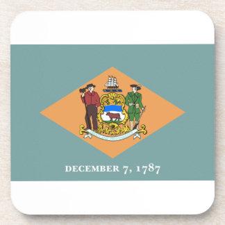 Bandera de Delaware Posavasos