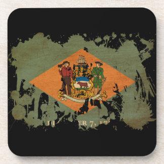 Bandera de Delaware Posavasos De Bebida