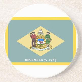 Bandera de Delaware Posavasos Manualidades