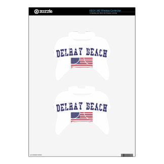 Bandera de Delray Beach los E.E.U.U. Mando Xbox 360 Skin