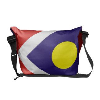 Bandera de Denver Bolsa De Mensajeria