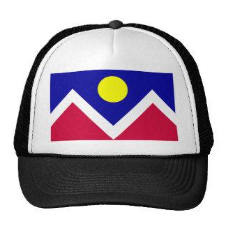Bandera de Denver Colorado Gorras