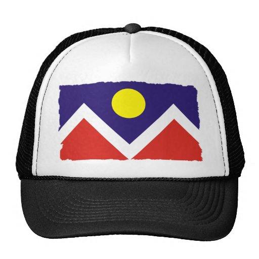 Bandera de Denver Colorado Gorra