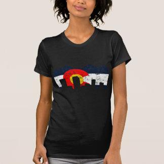 Bandera de Denver Colorado Camiseta