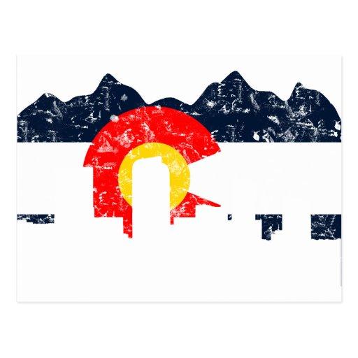 Bandera de Denver Colorado Postal