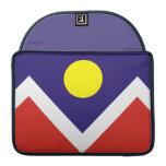 Bandera de Denver Fundas Macbook Pro