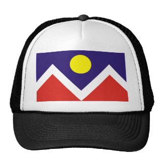 Bandera de Denver Gorras
