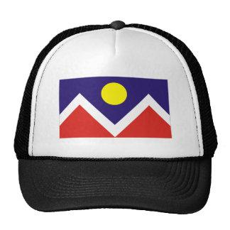 Bandera de Denver Gorras De Camionero