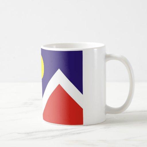 Bandera de Denver Taza De Café
