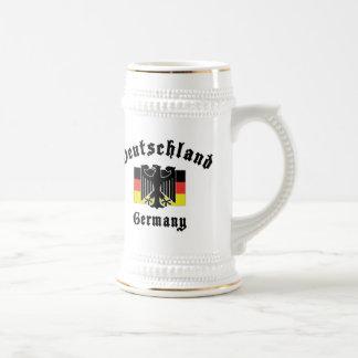 Bandera de Deutschland Alemania Jarra De Cerveza