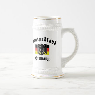 Bandera de Deutschland Alemania Tazas De Café